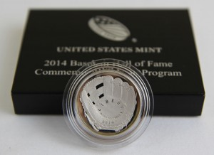 US Mint Sales: 2014 50c Baseball HOF Coins Surge