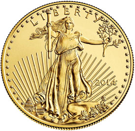 December 2014 and Full Year US Mint Bullion Coin Sales
