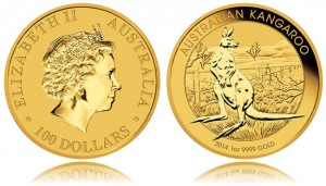 Annual Perth Mint Gold and Silver Bullion Sales in 2014