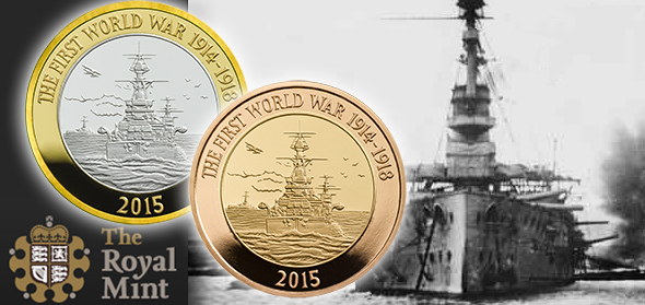 The Royal Mint commemorates the 100th Anniversary of the First World War with …