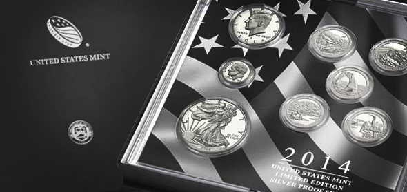 2014 US Mint Silver Proof Set Available March 17