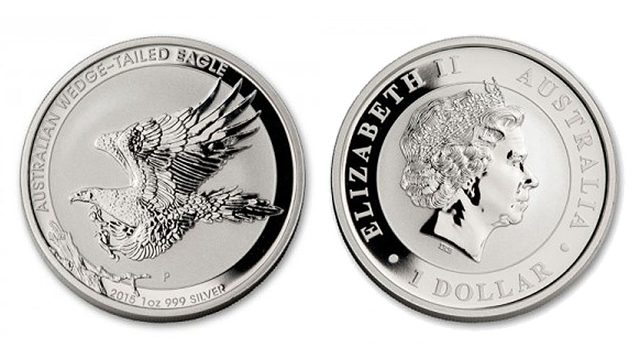 2015 Australian Wedge-Tailed Eagle coins now available