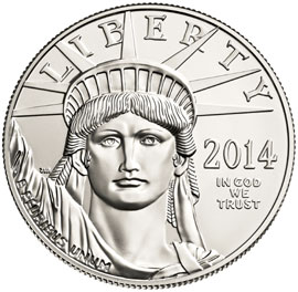 US Mint Bullion Coin Revenue Drops 44.1% in FY 2014