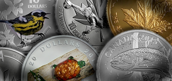 Royal Canadian Mint Launches 4th Collector Coin Catalog Of 2015