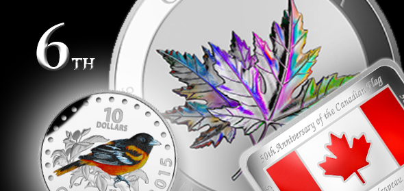 Royal Canadian Mint Launches 6th Numismatic Catalogue of 2015