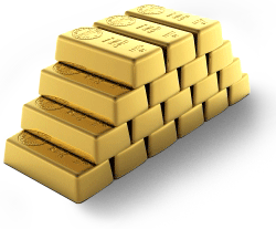 Gold down by Rs 380 to Rs 26650 per ten grams