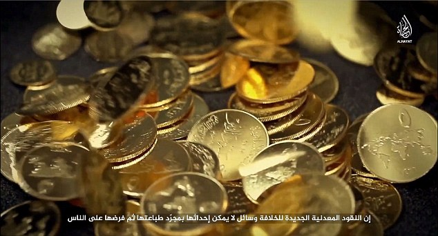 ISIL says its new coin it worth its weight in gold ($139)