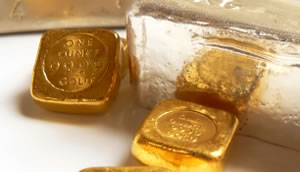 Gold, Silver Hit Fresh 1-Month Lows; Silver Eagles Top 40M