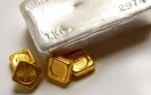Gold, Silver Slip for Second Day; US Mint Coin Sales Rise